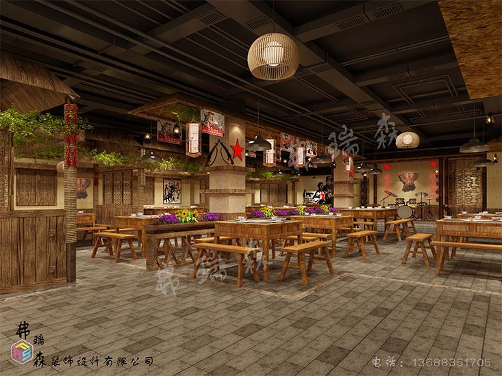 火锅店大厅(1)