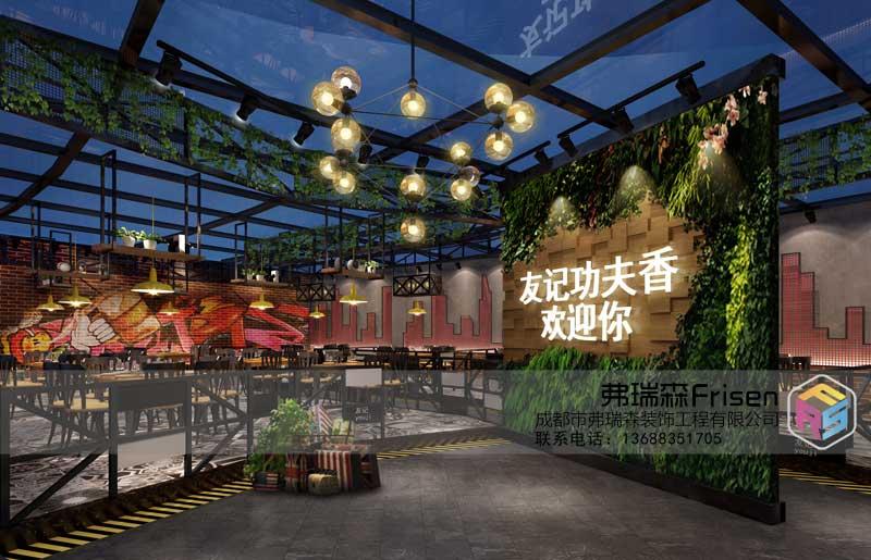 餐厅大厅装修效果图