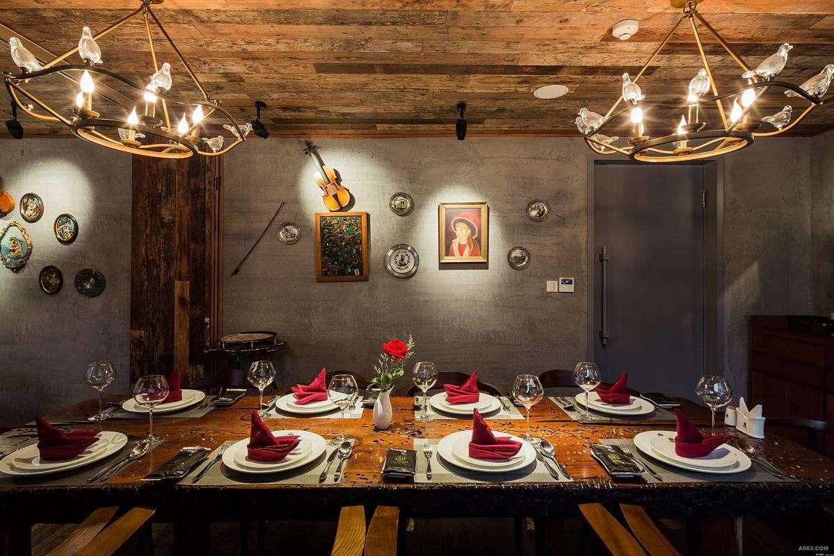 欧式古典西餐厅设计理念