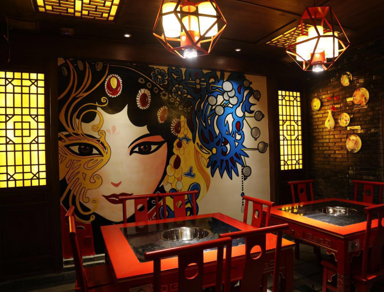 某火锅店餐厅装修效果图