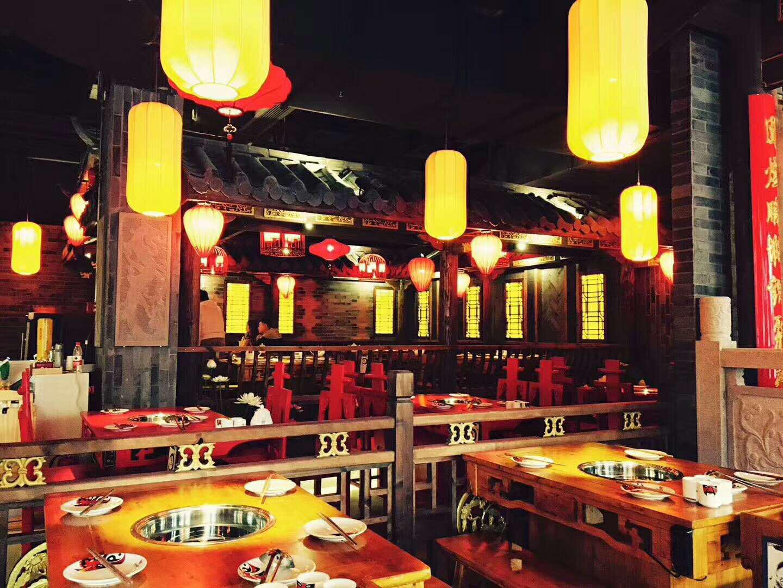 火锅店、餐厅、餐饮店装修效果图