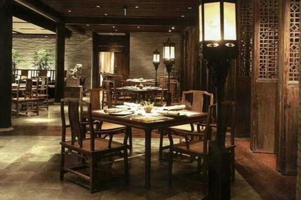 中式餐厅装修风格