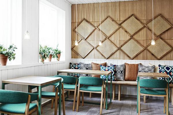 地中海餐厅装修风格