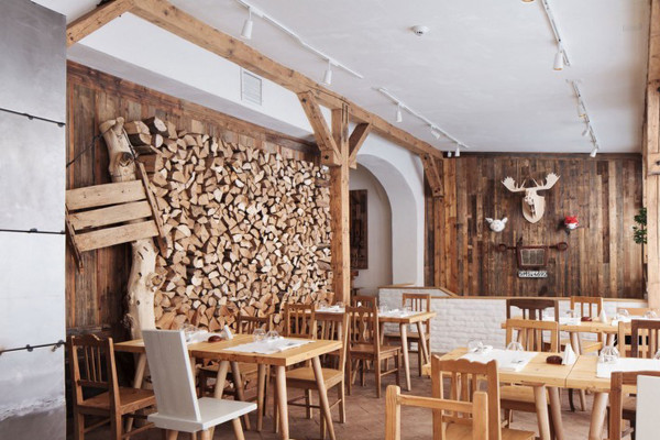 乡村餐厅装修风格