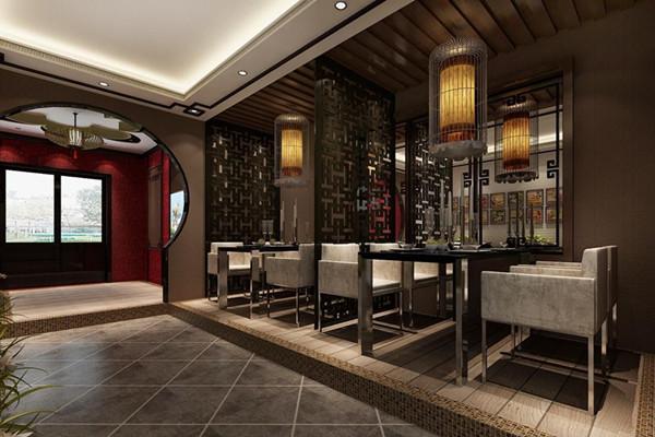 成都饭店装修新中式