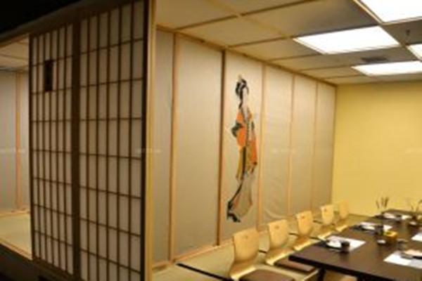日式餐厅装饰设计图