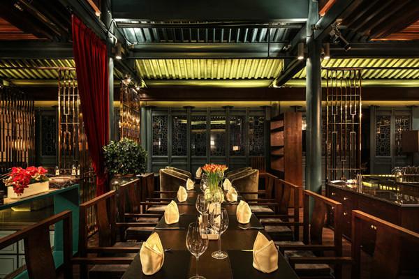 田园农舍风格为主题的餐厅装修设计