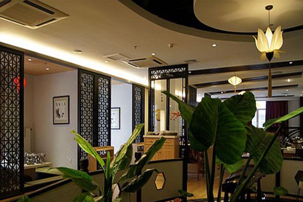 酒店餐厅装饰设计上颜色讲究细节