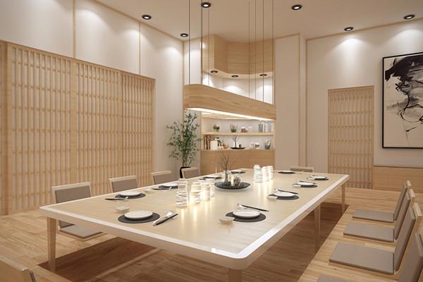 日式风格餐厅装修设计